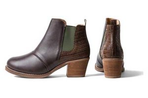 Boot im Chelsea-Stil Braun