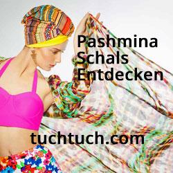 Pashmina Schals von Tuchtuch.com