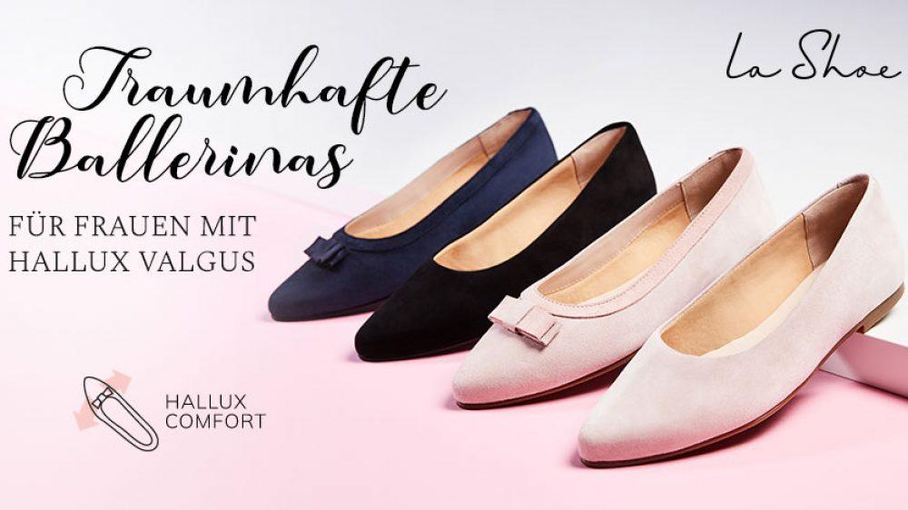 Die schönsten Ballerinas als komfortable Hallux Schuhe
