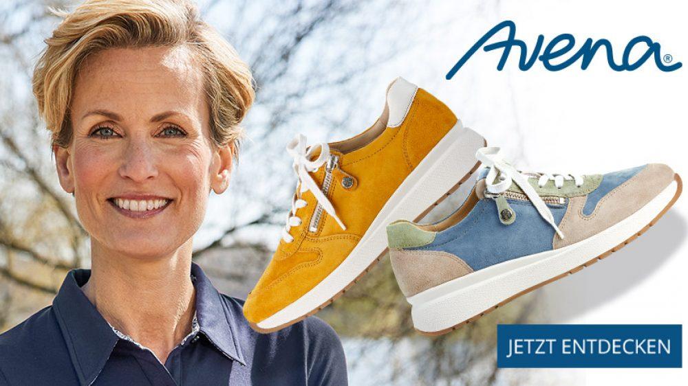 Hallux-Sneaker von Avena – sportlich, bequem und extraweich